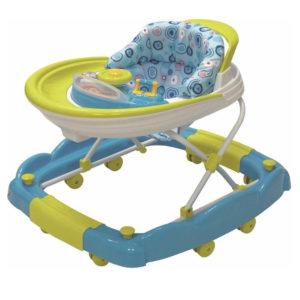 andador mecedor infanti azul bebe