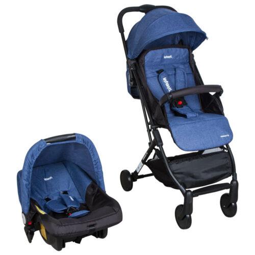 cochecito bebe travel system infanti terrain azul