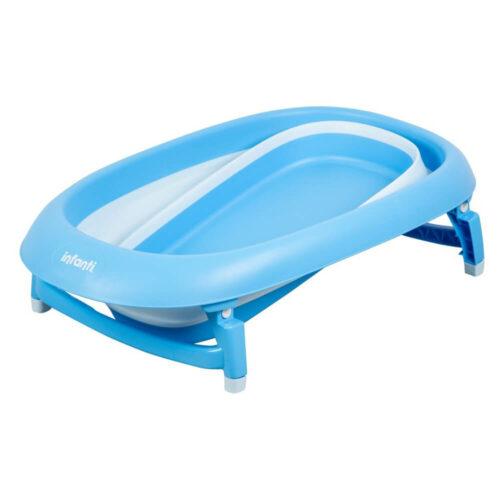 bañera plegable infanti azul