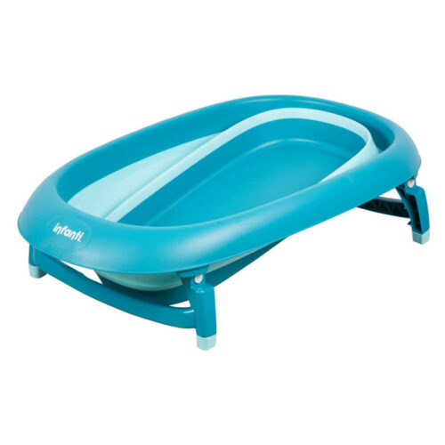 bañera plegable turquesa bebe infanti