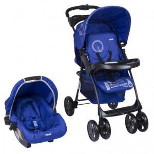 cochecito bebe infanti kei azul