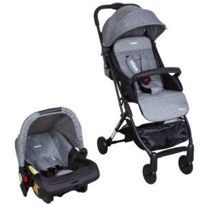 cochecito travel infanti bebe terrain gris