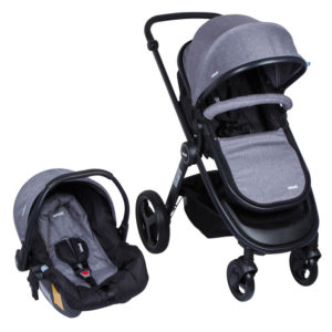 cochecito bebe travel system infanti vibe gris