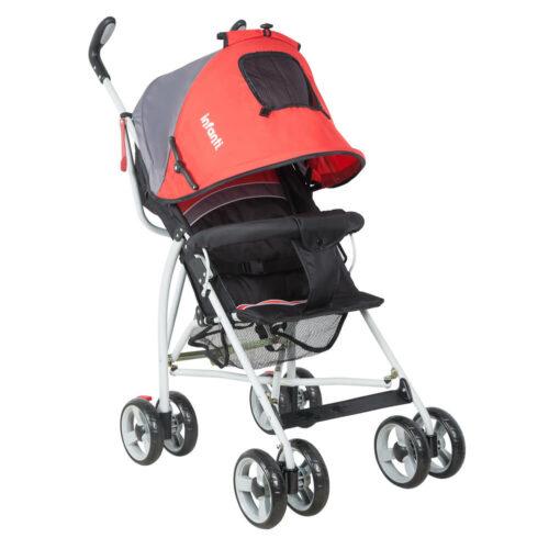cochecito paraguita bebe infanti spin rojo