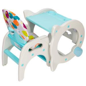 silla de comer bebe infanti etapas azul