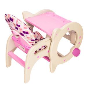 silla de comer etapas bebe infanti rosa