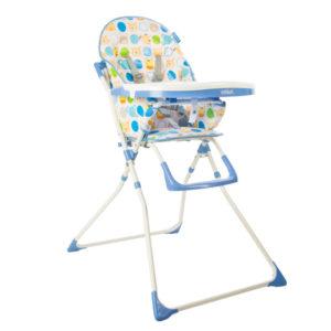 silla de comer bebe infanti candy azul