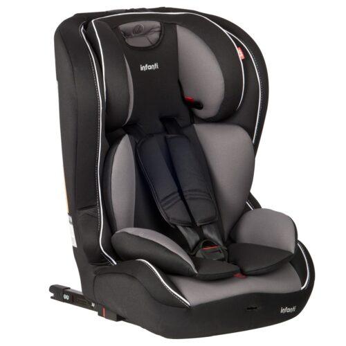 butaca booster bebe infanti jet isofix gris
