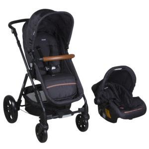 cochecito bebe infanti travel system cloud negro