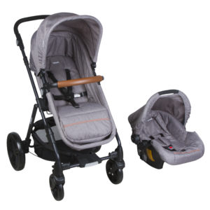 cochecito bebe infanti travel system cloud gris