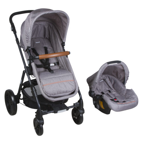 cochecito bebe infanti travel system cloud gris