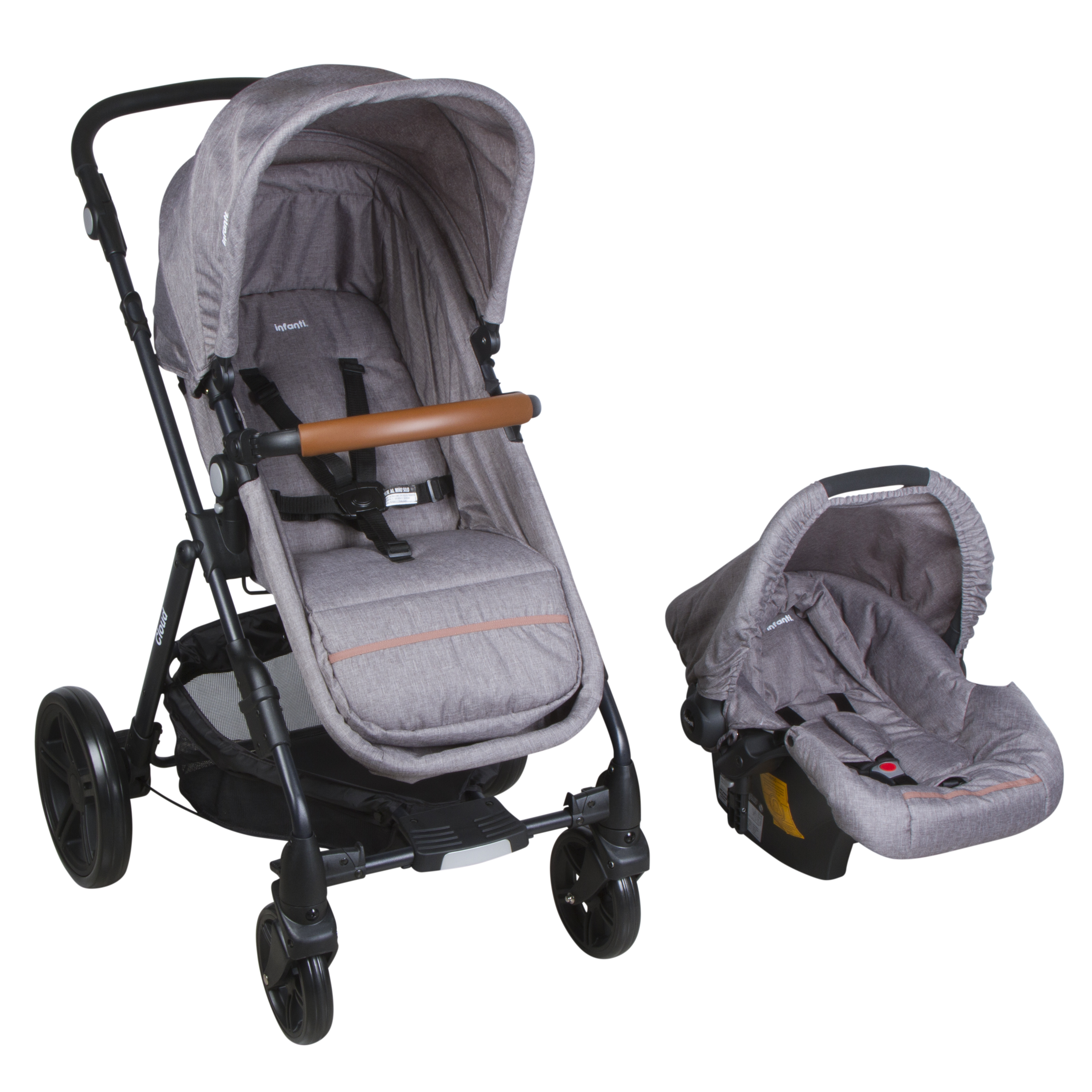 012110P68GR COCHE TRAVEL SYSTEM CLOUD GREY 1
